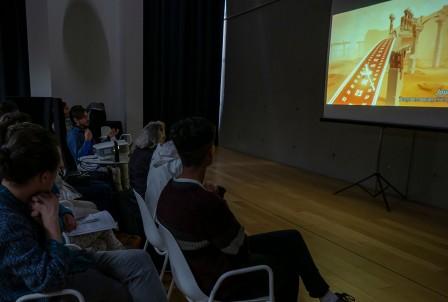 Conférence Art & jeux Vidéos - St Malo - Thomas Daveluy